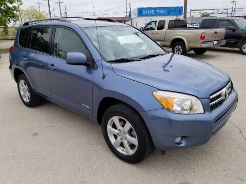 2008 Toyota RAV4 for sale at Key City Motors in Abilene TX