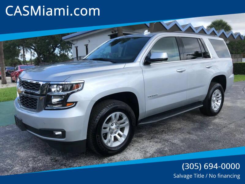 2020 Chevrolet Tahoe for sale in Miami, FL