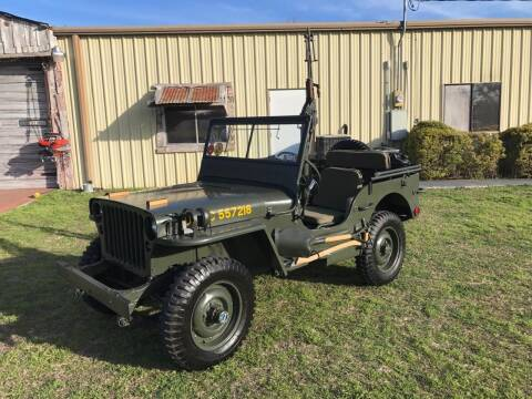1942 Willys Jeep for sale at Mafia Motors in Boerne TX