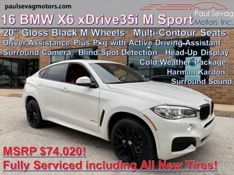 2016 BMW X6 for sale at Paul Sevag Motors Inc in West Chester PA