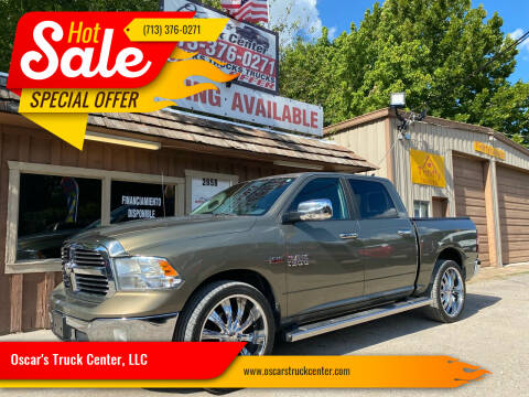 2015 RAM Ram Pickup 1500 for sale at Oscar's Truck Center, LLC in Houston TX