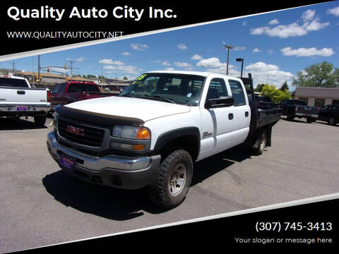 2005 GMC Sierra 3500 for sale at Quality Auto City Inc. in Laramie WY