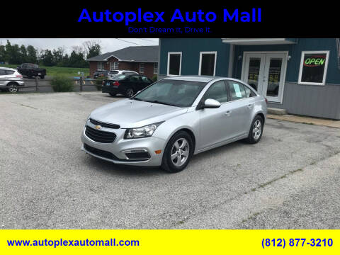 2015 Chevrolet Cruze for sale at Autoplex Auto Mall in Terre Haute IN