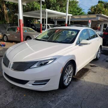 2014 Lincoln MKZ Hybrid for sale at America Auto Wholesale Inc in Miami FL