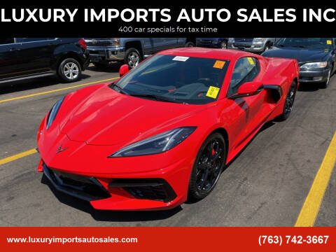 2020 Chevrolet Corvette for sale at LUXURY IMPORTS AUTO SALES INC in North Branch MN