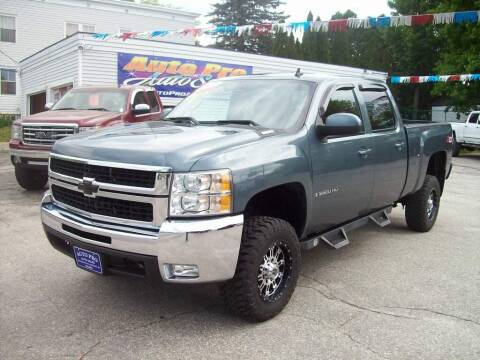 2009 Chevrolet Silverado 2500HD for sale at Auto Pro Auto Sales in Lewiston ME