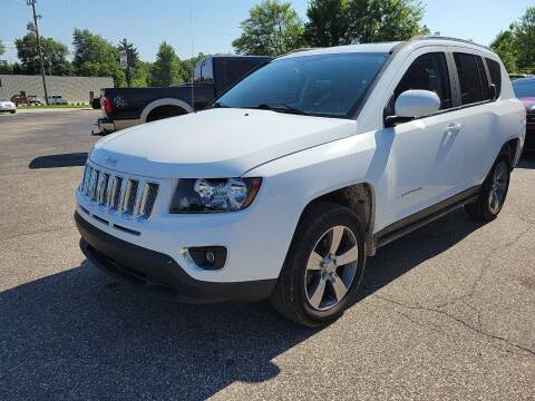 2016 Jeep Compass for sale at Cruisin' Auto Sales in Madison IN