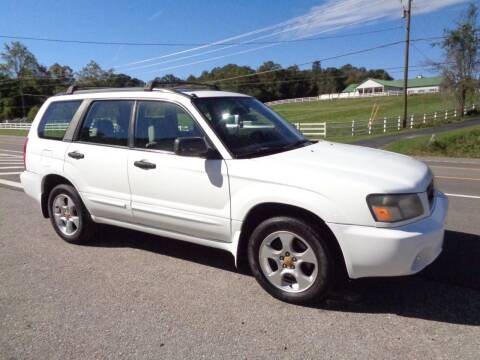 2003 Subaru Forester for sale at Car Depot Auto Sales Inc in Seymour TN