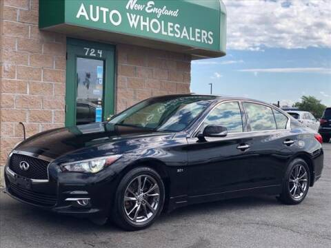 2017 Infiniti Q50 for sale at New England Wholesalers in Springfield MA