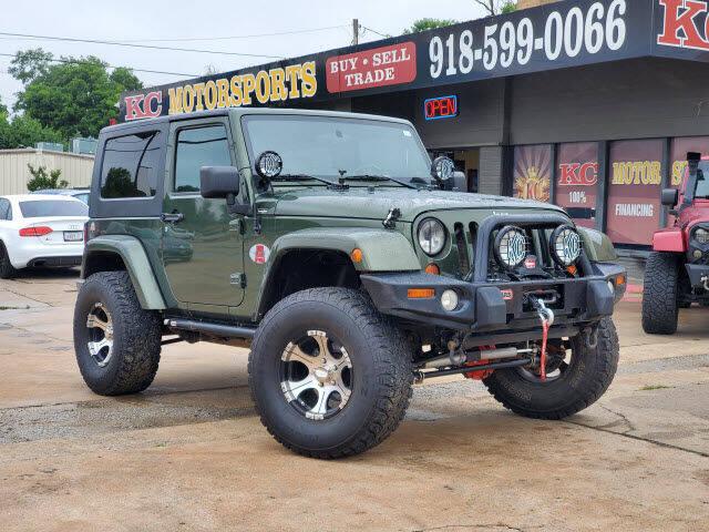 2008 Jeep Wrangler for sale at KC MOTORSPORTS in Tulsa OK