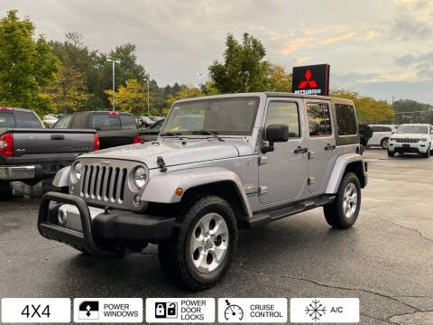 2014 Jeep Wrangler Unlimited for sale at Midstate Auto Group in Auburn MA