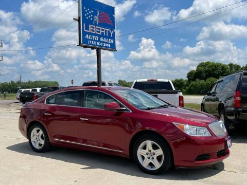 2011 Buick LaCrosse for sale at Liberty Auto Sales in Merrill IA