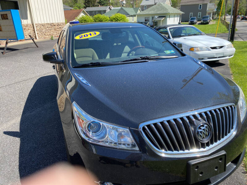 2013 Buick LaCrosse for sale at WHARTON'S AUTO SVC & USED CARS in Wheeling WV