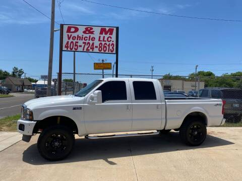2004 Ford F-250 Super Duty for sale at D & M Vehicle LLC in Oklahoma City OK