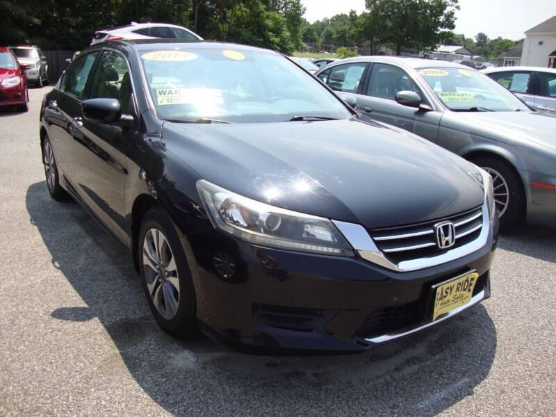2014 Honda Accord for sale at Easy Ride Auto Sales Inc in Chester VA