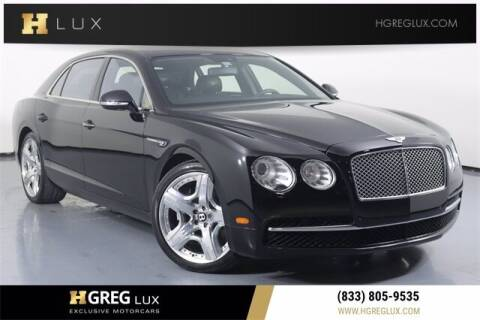 2014 Bentley Flying Spur for sale at HGREG LUX EXCLUSIVE MOTORCARS in Pompano Beach FL