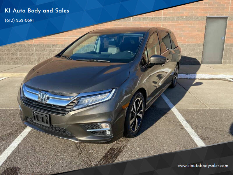 2018 Honda Odyssey for sale at KI Auto Body and Sales in Lino Lakes MN