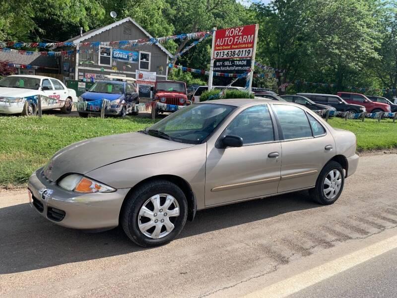 2002 Chevrolet Cavalier for sale in Kansas City, KS