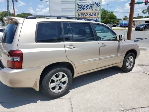 2007 Toyota Highlander for sale at Steve's Auto Sales in Sarasota FL