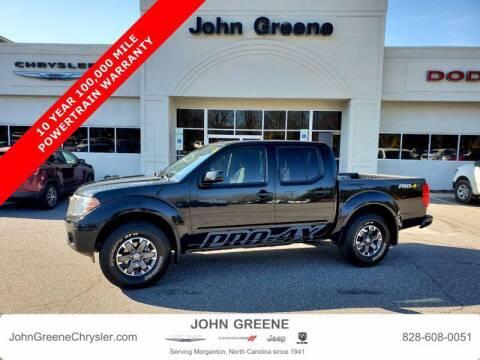 2019 Nissan Frontier for sale at John Greene Chrysler Dodge Jeep Ram in Morganton NC