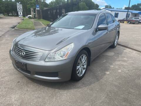2009 Infiniti G37 Sedan for sale at Newsed Auto in Houston TX