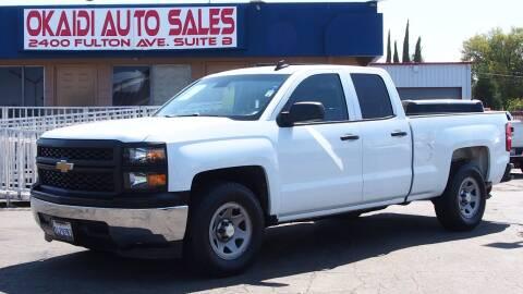 2015 Chevrolet Silverado 1500 for sale at Okaidi Auto Sales in Sacramento CA