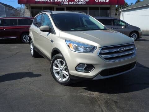 2018 Ford Escape for sale at Boulevard Used Cars in Grand Haven MI
