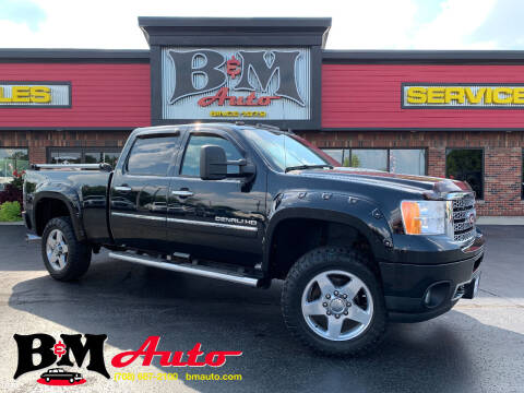 2013 GMC Sierra 2500HD for sale at B & M Auto Sales Inc. in Oak Forest IL