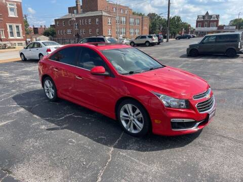 2015 Chevrolet Cruze for sale at DC Auto Sales Inc in Saint Louis MO