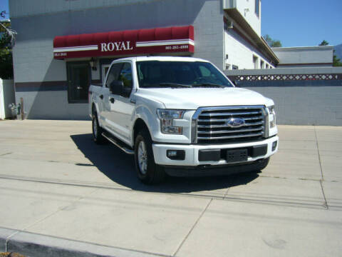 2017 Ford F-150 for sale at Royal Auto Inc in Murray UT