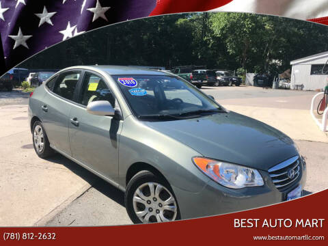 2010 Hyundai Elantra for sale at Best Auto Mart in Weymouth MA