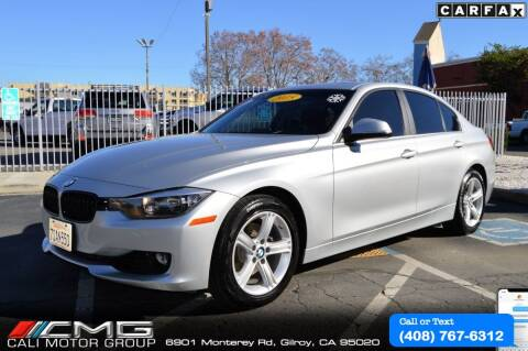 2015 BMW 3 Series for sale at Cali Motor Group in Gilroy CA