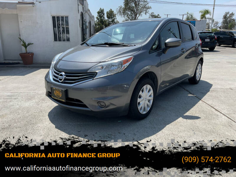 2016 Nissan Versa Note for sale at CALIFORNIA AUTO FINANCE GROUP in Fontana CA