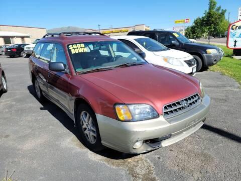 2003 Subaru Outback for sale at Creekside Auto Sales in Pocatello ID
