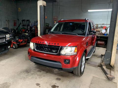 2015 Land Rover LR4 for sale at Frank's Garage in Linden NJ
