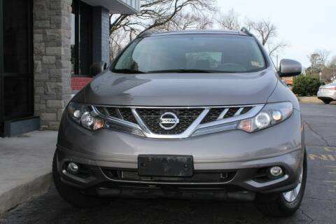 2012 Nissan Murano for sale at City to City Auto Sales - Raceway in Richmond VA