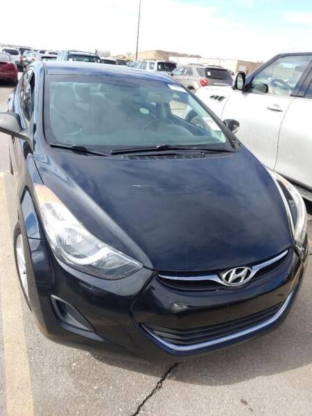 2013 Hyundai Elantra for sale at WB Auto Sales LLC in Barnum MN