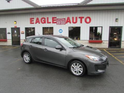2012 Mazda MAZDA3 for sale at Eagle Auto Center in Seneca Falls NY