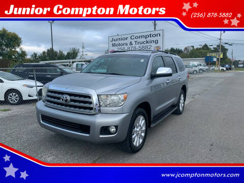 2010 Toyota Sequoia for sale at Junior Compton Motors in Albertville AL