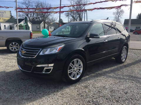 2013 Chevrolet Traverse for sale at Antique Motors in Plymouth IN