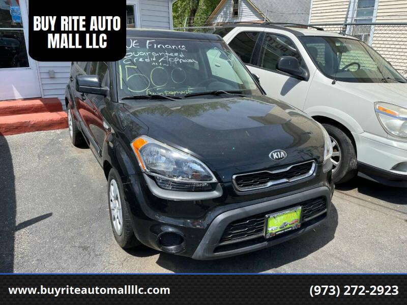 2013 Kia Soul for sale at BUY RITE AUTO MALL LLC in Garfield NJ