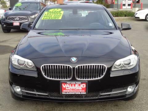 2012 BMW 5 Series for sale at Vallejo Motors in Vallejo CA