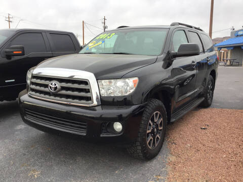2013 Toyota Sequoia for sale at SPEND-LESS AUTO in Kingman AZ