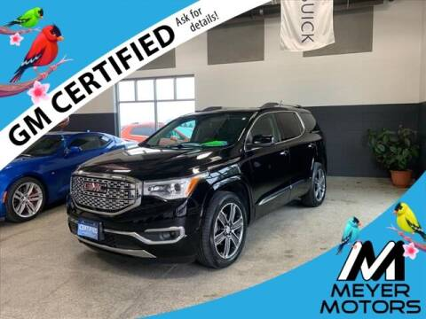 2018 GMC Acadia for sale at Meyer Motors in Plymouth WI