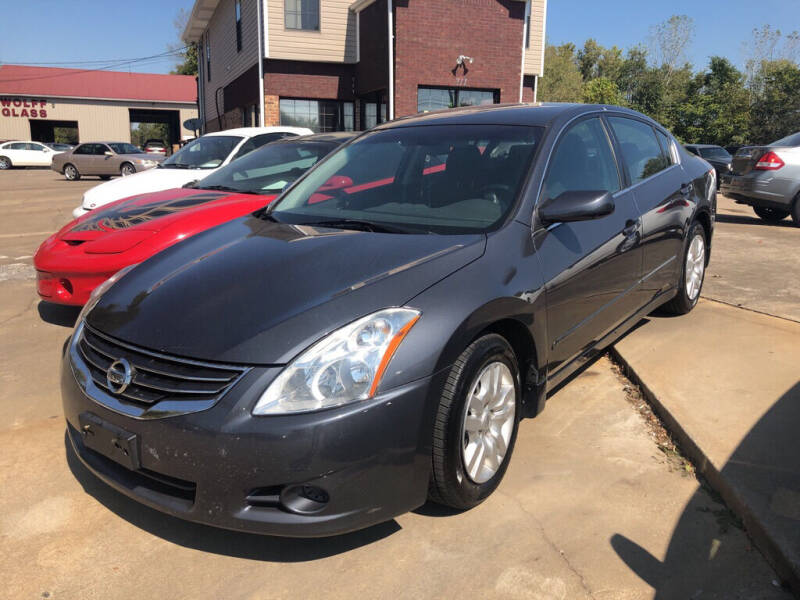 2010 Nissan Altima for sale at Wolff Auto Sales in Clarksville TN