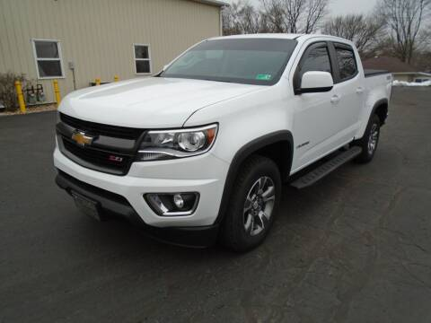 2017 Chevrolet Colorado for sale at Ritchie Auto Sales in Middlebury IN