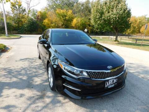 2017 Kia Optima for sale at Lot 31 Auto Sales in Kenosha WI