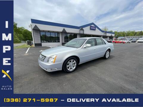 2006 Cadillac DTS for sale at Impex Auto Sales in Greensboro NC