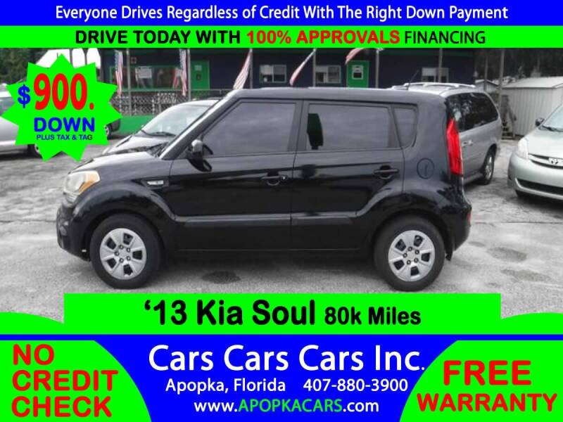 2013 Kia Soul for sale at CARS CARS CARS INC in Apopka FL