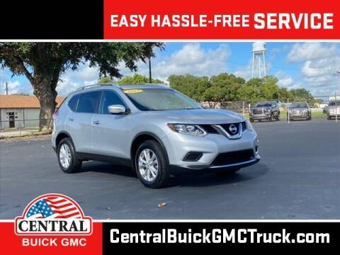 2015 Nissan Rogue for sale at Central Buick GMC in Winter Haven FL